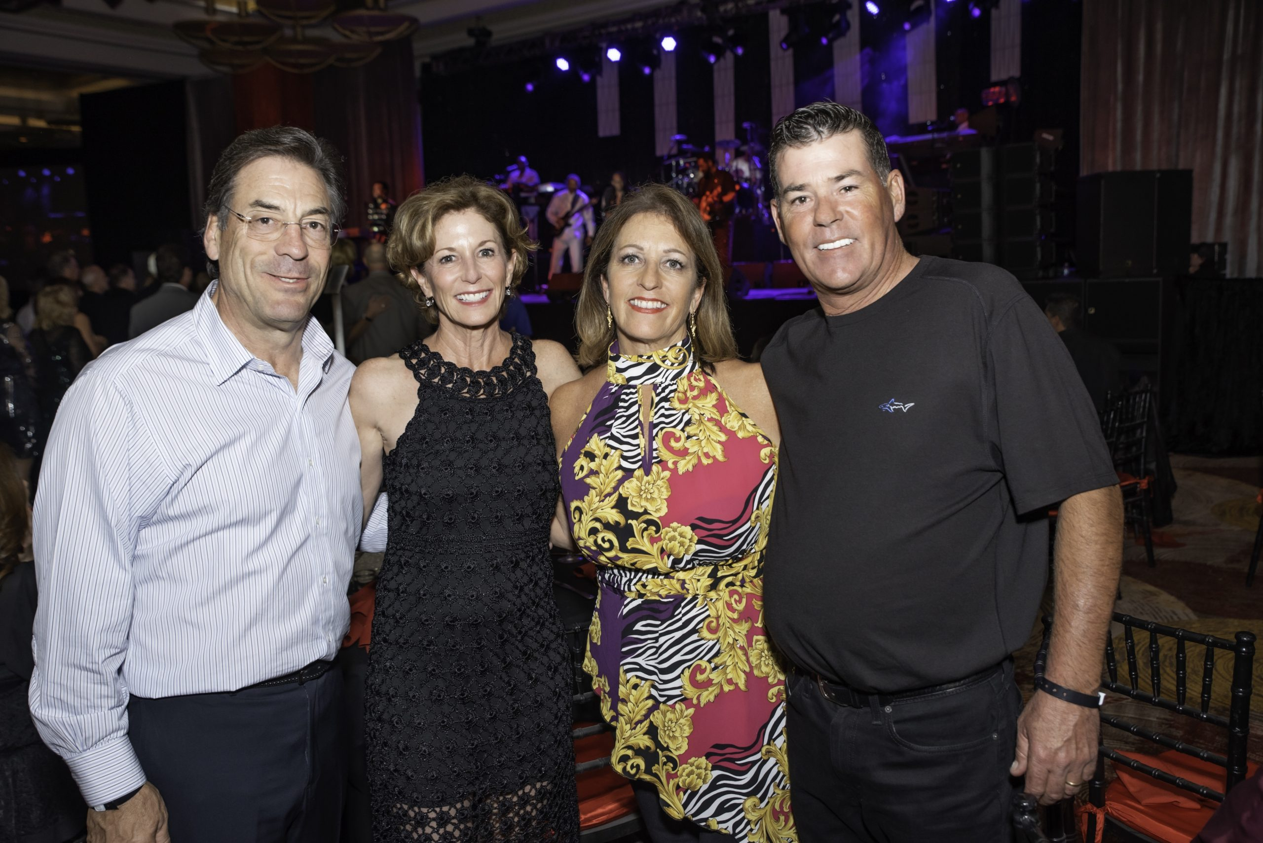 Chris & Jayne Malfitano with Laura Sylvester & Andy Trunk